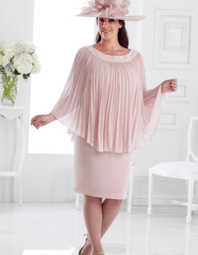 Pink Plus Size Wedding Outfits