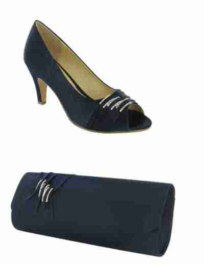 Navy Lexus Asia shoes and bag