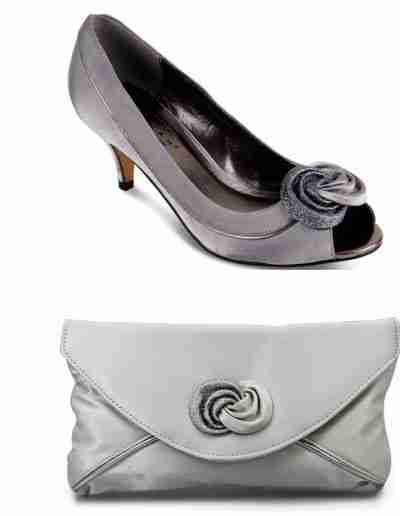 Pewter Ripley shoes and Bag