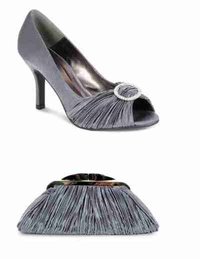 Slate grey Sienna shoes and bag