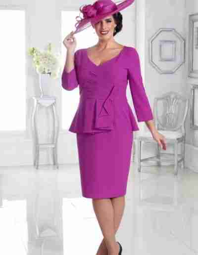 Purple Plus Size Mother of the Bride Dresses