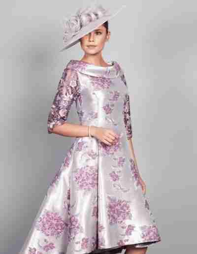 Purple and Pink Mother of The Bride Outfit