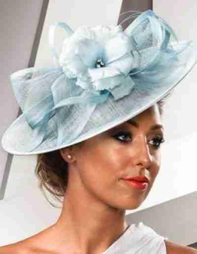 Blue Wedding Hat