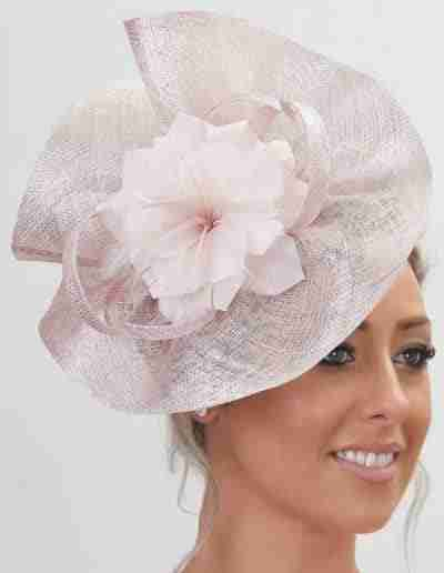 Baby Pink Wedding Hatinator