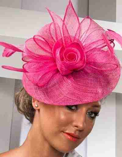 Bright Pink Wedding Hatinator
