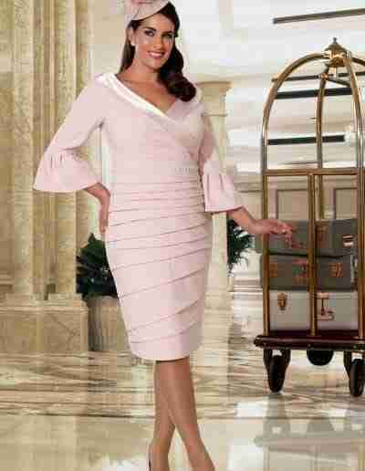 Veromia Plus Size pink dress