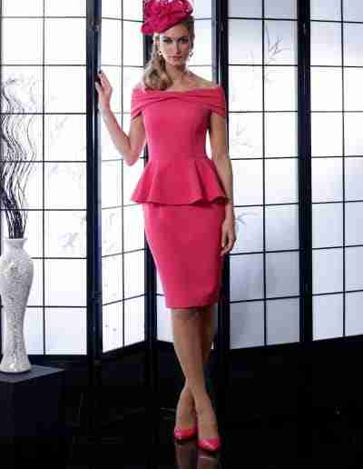 Cerise Mother of the Bride Outfit