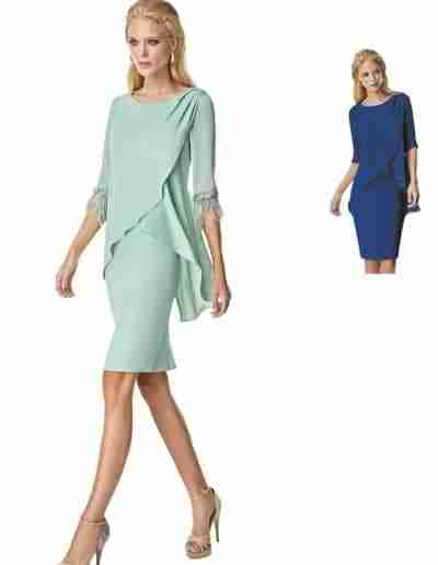 sonia pena mother of the bride dress aqua