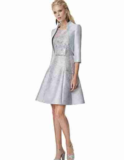 sonia pena mother of the bride grey dress