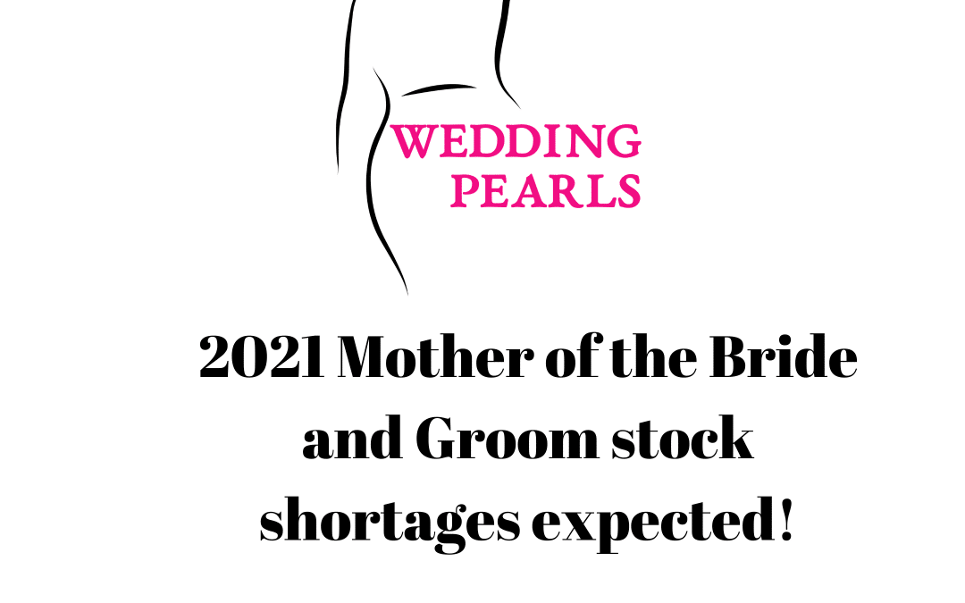 2021 Mother of the Bride and Groom Outfits